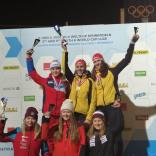 Диана Логинова - серебро этапа Кубка мира в Инсбруке