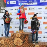 Екатерина Лаврентьева - 11-ти кратная победительница Кубка мира по натурбану