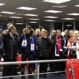 Открытие стартовой санно-бобслейной эстакады в Парамоново