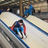 Александр Перетягин - тренировка на разгонно-стартовой эстакаде
