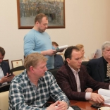 Доклад председателя тренерского совета Дмитрия Касаткина