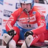 Чемпионат Европы по санному спорту в Парамоново. Альберт Демченко и другие в первой попытке
