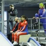 Открытая тренировка сборной России по санному спорту. Женщины