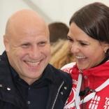 Михаил Мамиашвили и сотрудник ОКР Мария Ярина