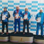Чемпионат России 2017, мужчины/двухместные сани - спринт