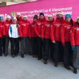 Сборная России по санному спорту на этапе Кубка мира в Корее