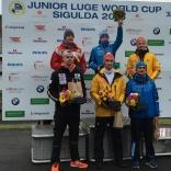 Лебедев Данил - победитель этапа Кубка мира в Сигулде