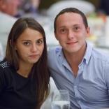 Андрей Медведев с супругой