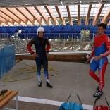 Роликовая подготовка национальной сборной в Сочи