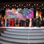 Церемония награждения спортсменов