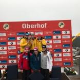 Этап Кубка мира по санному спорту в Оберхофе (Германия)