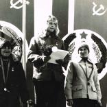 Нина Шашкова, Вера Зозуля, Наталья Омшева на Спартакиаде народов СССР в Грузии