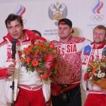 Встреча в Шереметьево (фото Сергея Комаровского)
