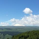 Одна из вершин Эльбруса