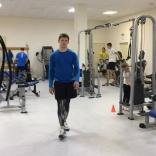 Роман Репилов на тренировке