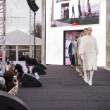 Показ пре-коллекции fall-winter 19/20 модного дома NATALIA GART в рамках этапа Кубка мира по натурбану