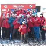 Этап Кубка мира по санному спорту в Сигулде (Латвия)