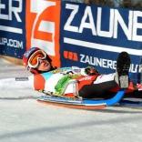 Серебряный призёр шестого этапа Кубка мира австриец Михаэль Шайкль
