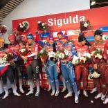 Чемпионат Европы, 9-ый этап Кубка мира по санному спорту 2018