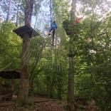 Тренировки на полосе препятствий, Сигулда (Латвия)