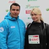 Перед стартом Альберт Демченко  и Наталия Гарт