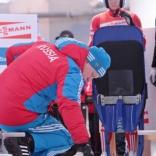 Чемпионат Европы по санному спорту в Парамоново. Татьяна Иванова и другие в первой попытке