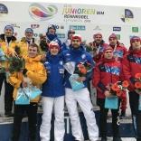 Первенство мира 2018 в Альтенберге, Церемония награждения двухместных экипажей