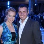 Исполнительный директор ФССР Андрей Марков, олимпийская чемпионка Ольга Зайцева