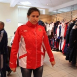 Сборная России по санному спорту получает экипировку