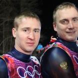 Владислав Южаков и Владимир Махнутин девятые на олимпийской трассе
