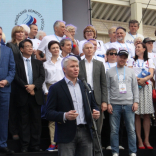 Чествование сборной команды России