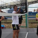 Встреча на волейбольной площадке - продолжение тренировочного процесса