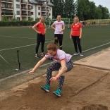 Подготовка к Летнему Кубку - прыжки в длину