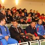 Успехи российских саночников и визит президента МОК Жака Рогге на этапе Кубка мира в Сигулде