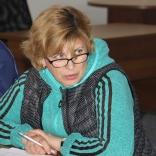 Старший тренер молодежной сборной Вера Бардина