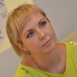 Рина Веланская - пресс-секретарь Федерации санного спорта России (фото: Ю.Машков)