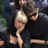 Похороны президента Федерации санного спорта России Леонида Гарта