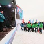 Этап Кубка мира по натурбану в Москве 2017