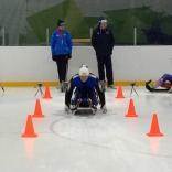 Тренировка на плоском льду