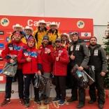 Церемония награждения двухместных экипажей, Всеволод Кашкин/Константин Коршунов - 4 место