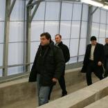 Инспекция FIL на санно-бобслейной трассе в Парамоново