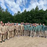 Пейнтбол (выходной день юниорской сборной команды в Сигулде)