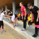 Сигулда, Латвия. Тренировка юниорской сборной России по санному спорту. Фото: В.Д. Бардина