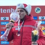 Обладатель Кубка мира 2016-2017 Роман Репилов