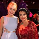 Президенты федераций санного спорта и художественной гимнастики - Наталия Гарт и Ирина Винер