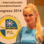 Президент ФССР, член Исполкома FIL Наталия Гарт
