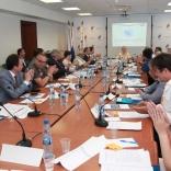 Делегаты ФССР поздравляют Наталию Гарт с избранием Президентом на 4-летний срок