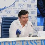 Альберт Демченко на пресс-конференции в ИТАР-ТАСС