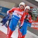 Владислав Южаков и Владимир Махнутин - серебряные призеры первого этапа КМ по саням в двойках!