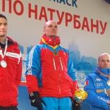 Победитель московского этапа Александр Егоров